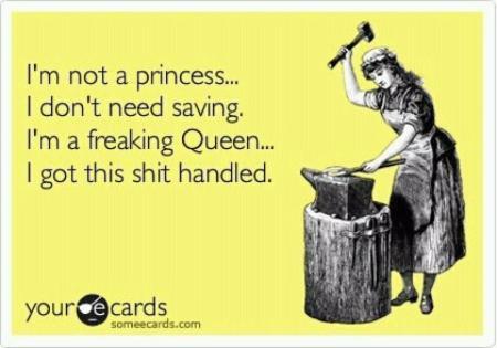 freaking Queen e-card